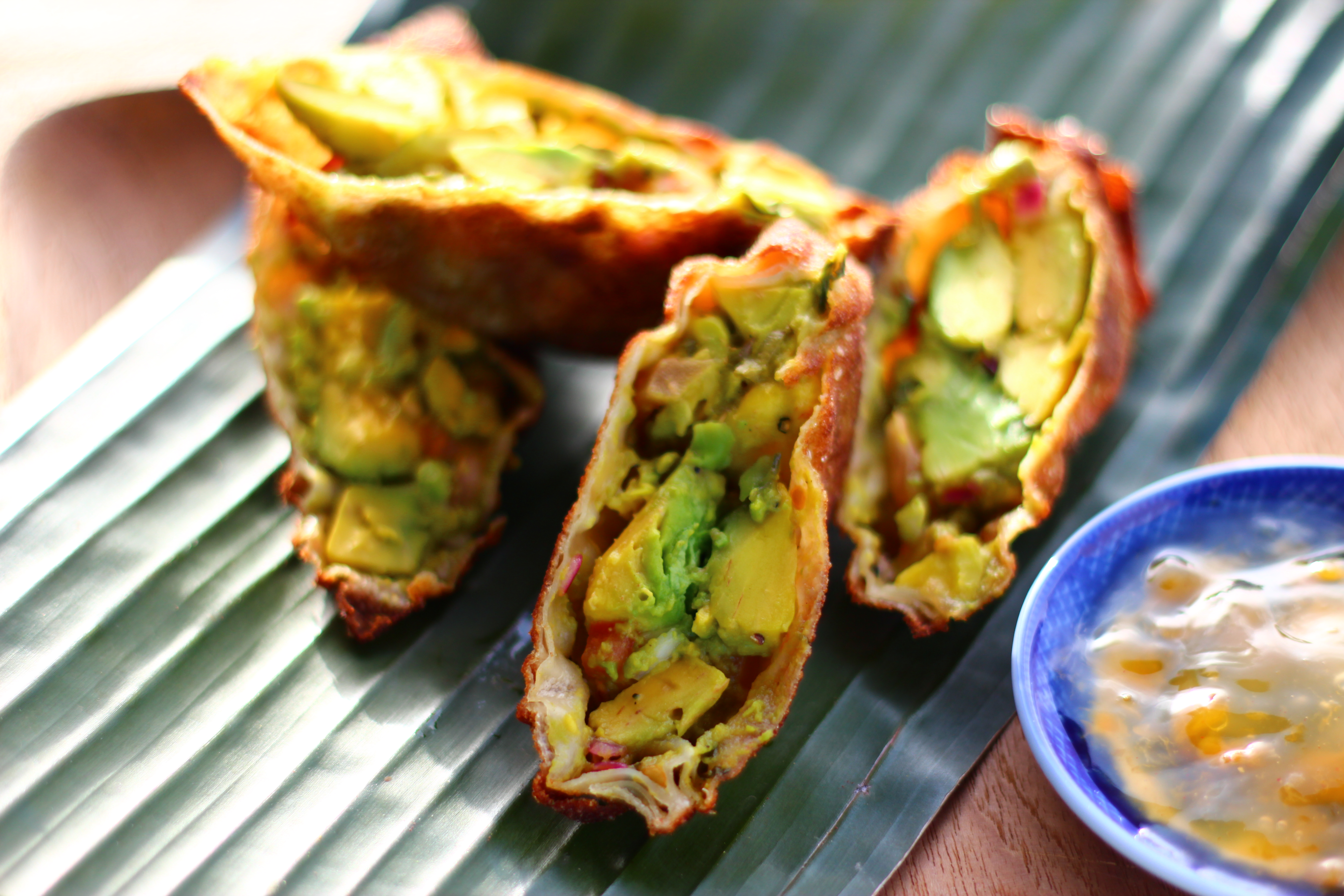 Contessa Avocado Egg Rolls – The Crucian Contessa